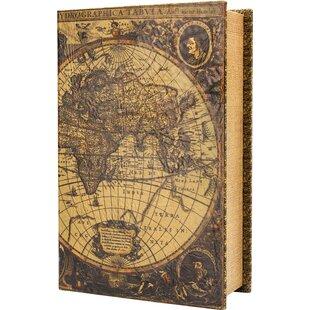 Barska Antique Map Book Ca..