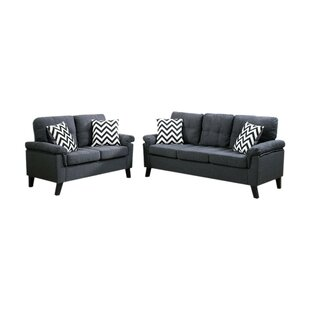 Find the perfect Pourteau 2 Piece Living Room Set by Latitude Run Reviews (2019) & Buyer's Guide