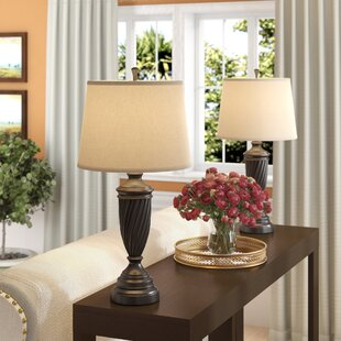 Table Lamps With Linen Shades Wayfair