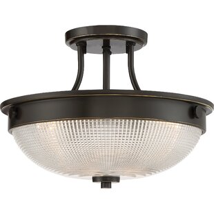 Vigil 1-Light Semi-Flush Mount..