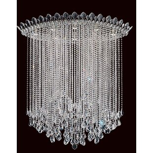 Schonbek Trilliane Strands 8-Light Flush Mount