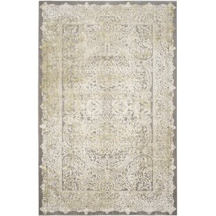 Auguste Taupe Area Rug by One Allium Way