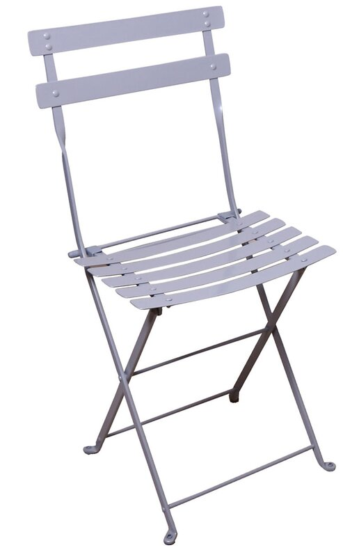 French Bistro European Cafe Folding Patio Dining Chair