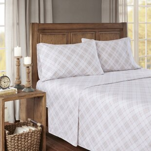 Aine Plaid & Check 100% Cotton Sheet Set