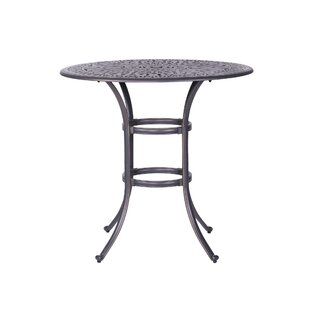 Fleur De Lis Living Bean Round Table