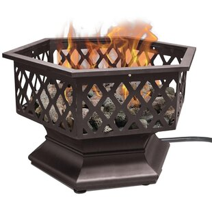 Gas Portable Stainless Steel Propane Fire Pit By Endless Summer