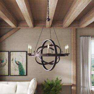 Ingalls Western Bronze 6-Light Chandelier by Laurel Foundry Modern Farmhouse