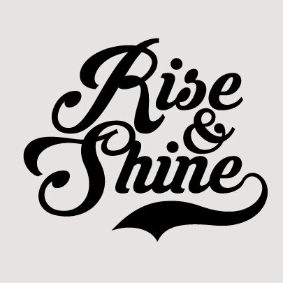 Sweetumswalldecals Rise And Shine Wall Decal Wayfair