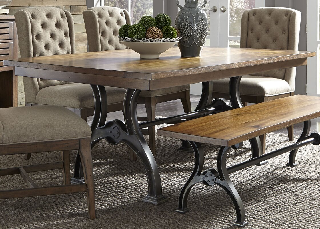 Trent Austin Design Brownwood 6 Piece Dining Table Set