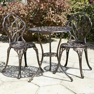 Averill 3 Piece Bistro Set by Charlton Home