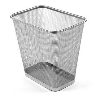 Design Ideas Metal Waste Basket