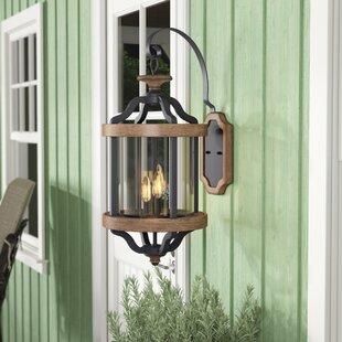 Elisabetta 3-Light Outdoor Wall Lantern b..