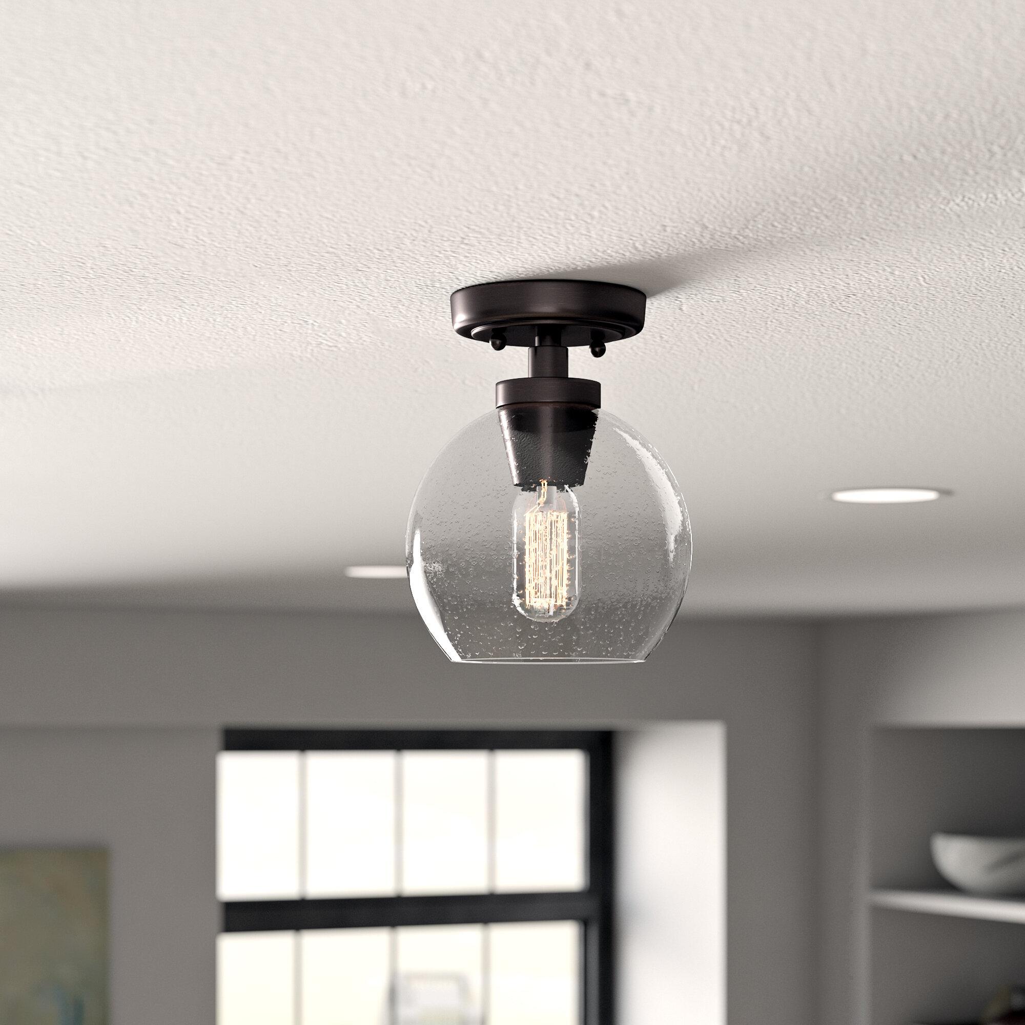 Trent austin design bronson braylen 1 light semi flush mount reviews wayfair
