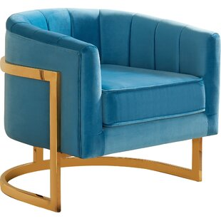 Everly Quinn Lakeview Barrel Chair