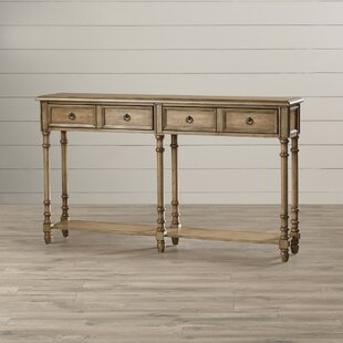 Preusser 58 Solid Wood Console Table by August Grove