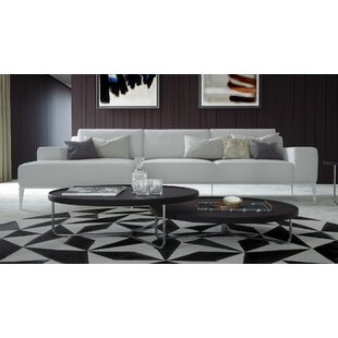 Modloft Elizabeth Leather Sectional