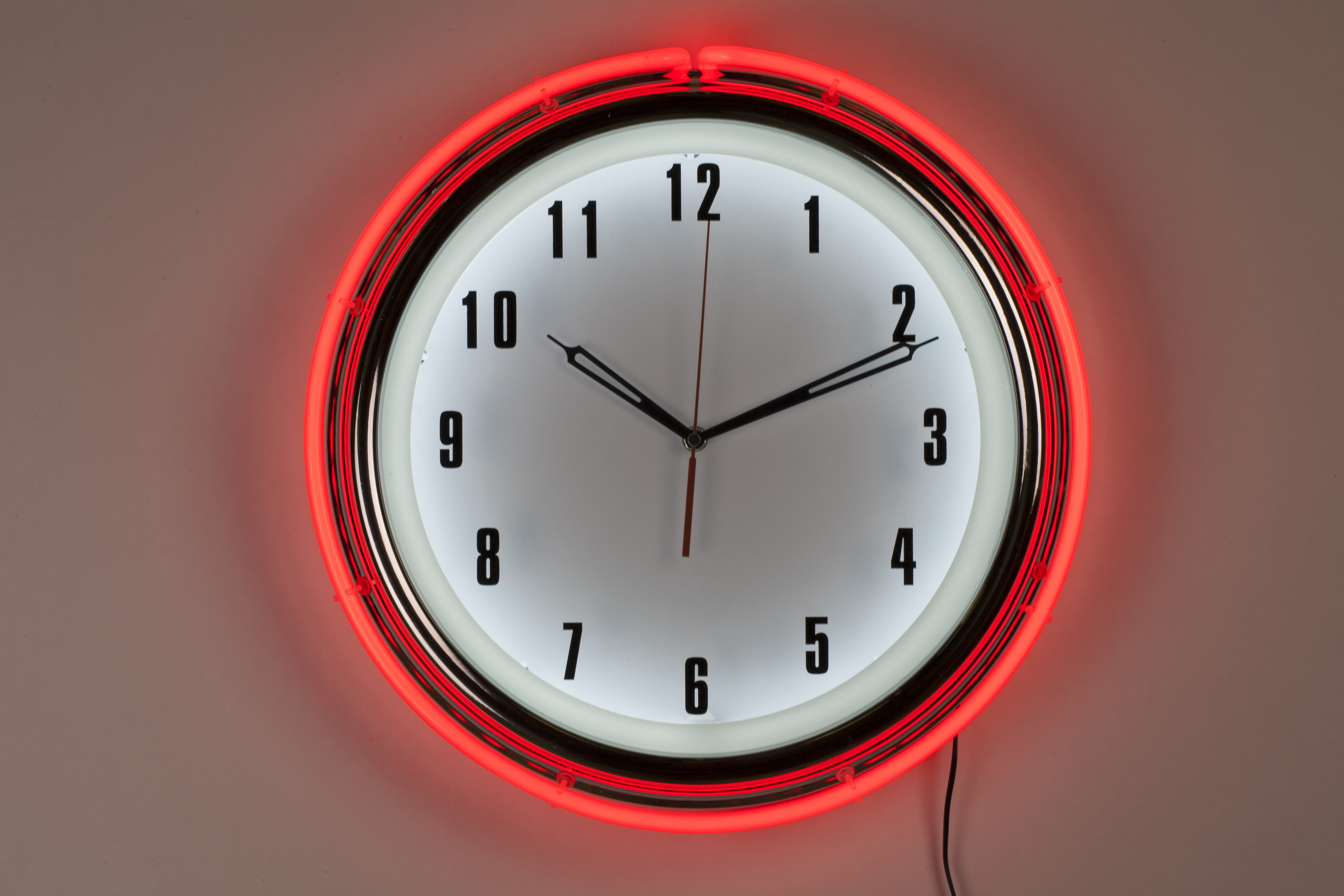 Control Brand Neon Diner 16 Wall Clock Wayfair