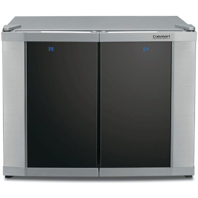 Cuisinart 12 Bottle Dual Zone Freestanding Wine Cooler