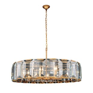 Everly Quinn Genovese 10-Light Chandelier
