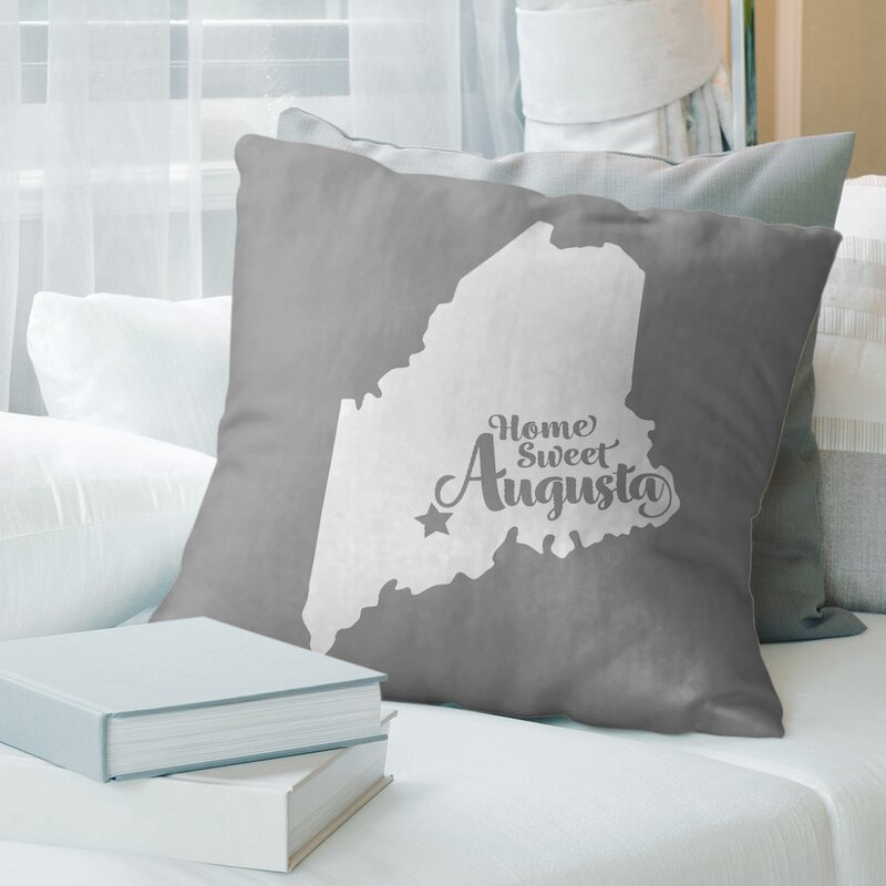East Urban Home Maine Throw Pillow Wayfair