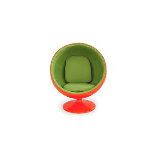 Bly Sphere Roating Swivel Barrel Chair by..