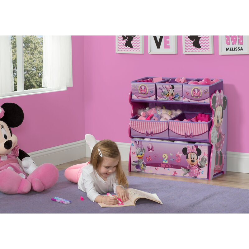 Delta Children Minnie Mouse Multi Bin Toy Organizer Reviews Wayfair