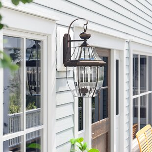 Washington Mews 4-Light Incandescent Outdoor Wall Lantern