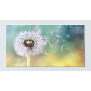 Dandelion Motif Magnetic Wall Mounted Cork Board By Ebern Designs