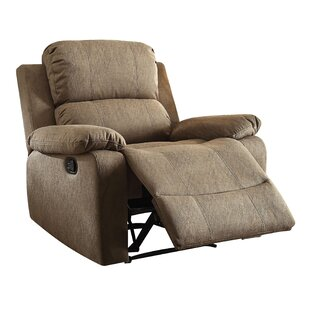 Riverdale Manual Wall Hugger Recliner by Winston Porter