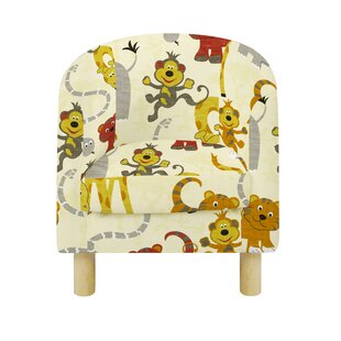 Feltner Animal Camp Jungle Children's Club Chair By Zoomie Kids