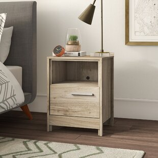 Wellow 1 Drawer Nightstand by Mercury Row