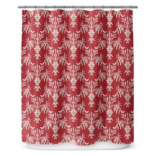 Christmas in Plaid Single Shower Curtain