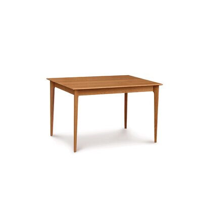 """Sarah Dining Table Copeland Furniture Color: Smoke Cherry, Size: 30"""" H x 36"""" W x 36"""" D"""