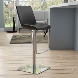 Anita Adjustable Height Swivel Bar Stool by Wade Logan