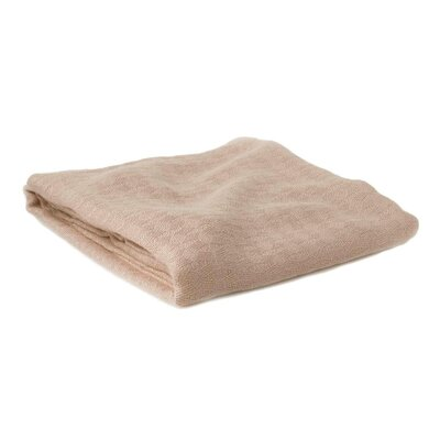 BedVoyage Bed Blanket Size: Travel / Throw, Color: Champagne