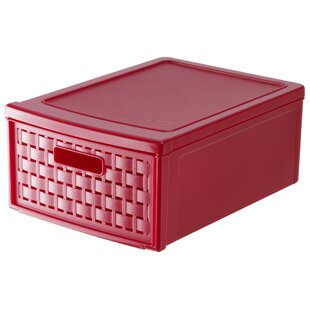 Country Plastic Storage Box By Rotho