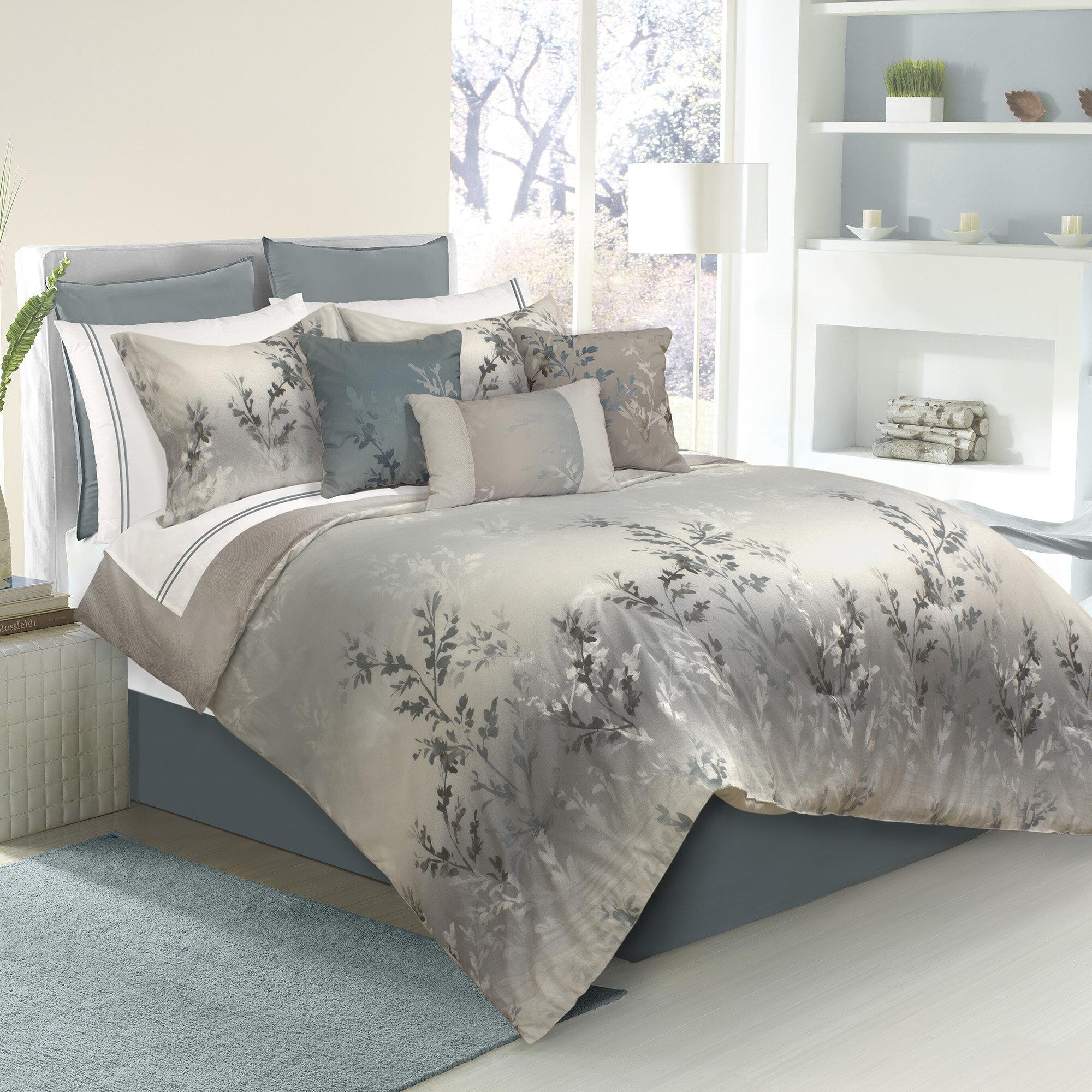 Alcott Hill Trembley 7 Piece King Comforter Set Reviews Wayfair