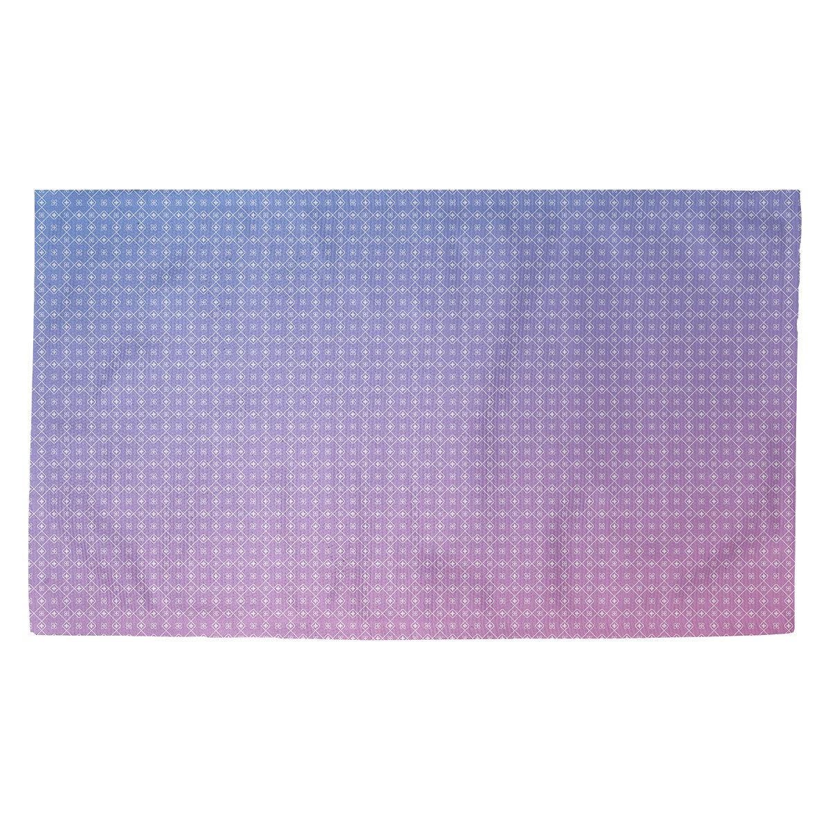 Latitude Run Avicia Doily Blue Pink Area Rug Wayfair