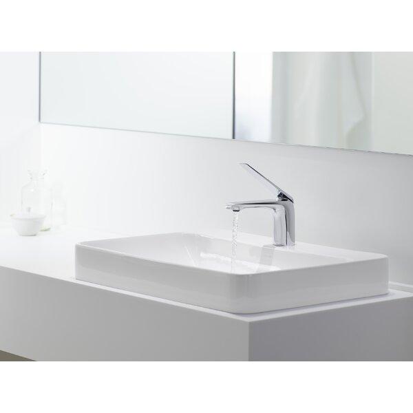 Kohler Vox Rectangular Vessel Bathroom Sink With Overflow Reviews Wayfair