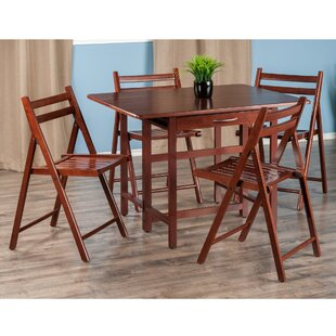 Culley 5 Piece Drop Leaf Dining Set
