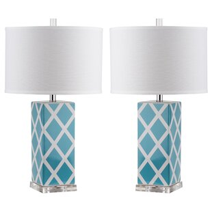 Aqua Blue Glass Lamp Wayfair