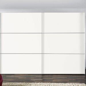 Schwebetürenschrank Solutions Bianco, 216 cm H..