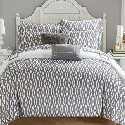 Dyer Avenue Reversible Comforter Set Size: Queen