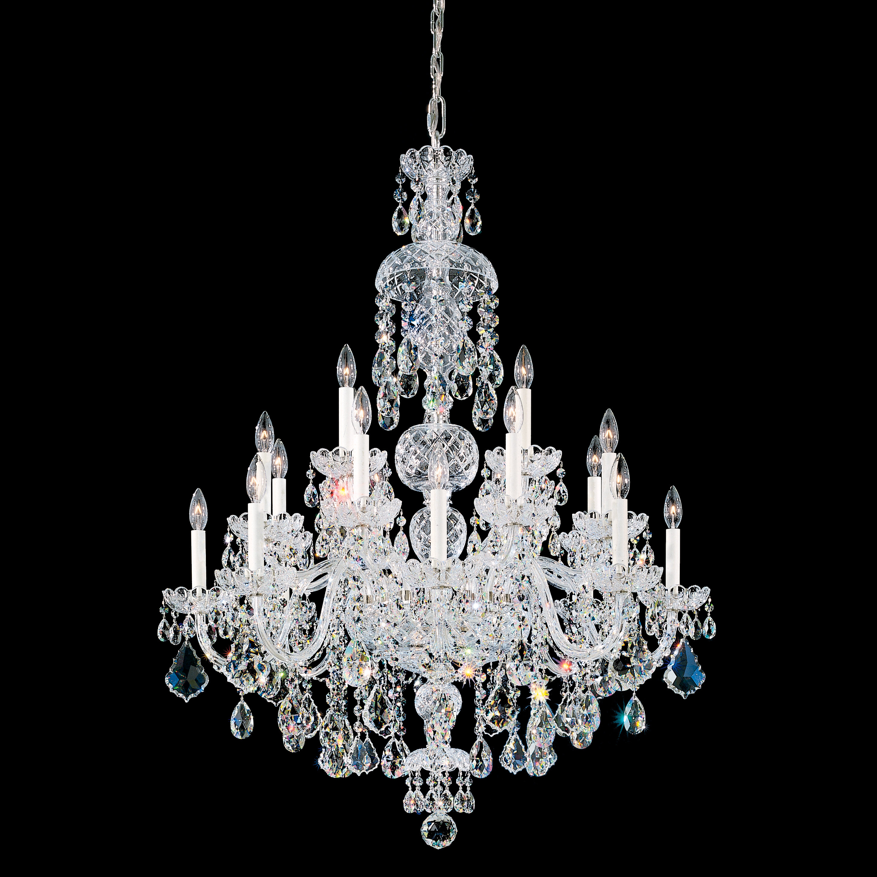 Schonbek Olde World 25 Light Candle Style Classic Traditional Chandelier Wayfair