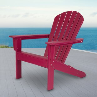 Bay Isle Home Barrett Plastic Rocking Adirondack Chair