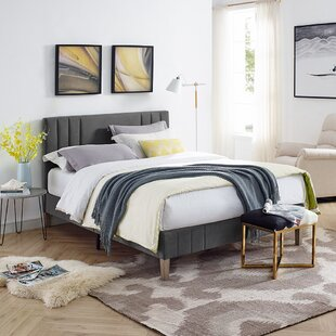 Chicago Upholstered Platform Bed by Classic Brands