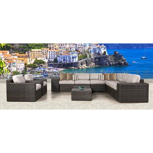Sabin 13 Piece Sectional Set with Cushions