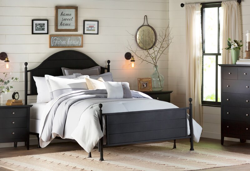 Neutral Living Spaces C Cottage Country Modern Farmhouse Bedroom Design