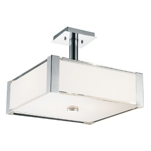 CWI Lighting Lucie 4-Light Square/Rectangle Chandelier
