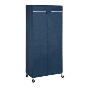 186 cm H x 91 cm B x 45 cm T Tragbare Garderobe